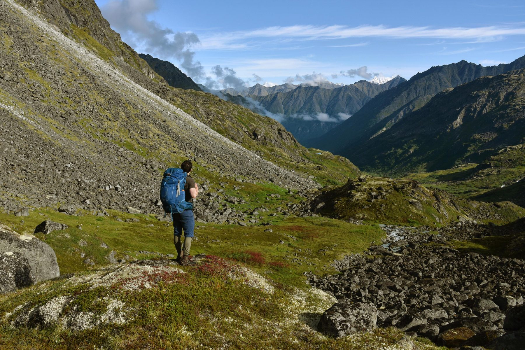 Routefinding in the Talkeetna Mountains