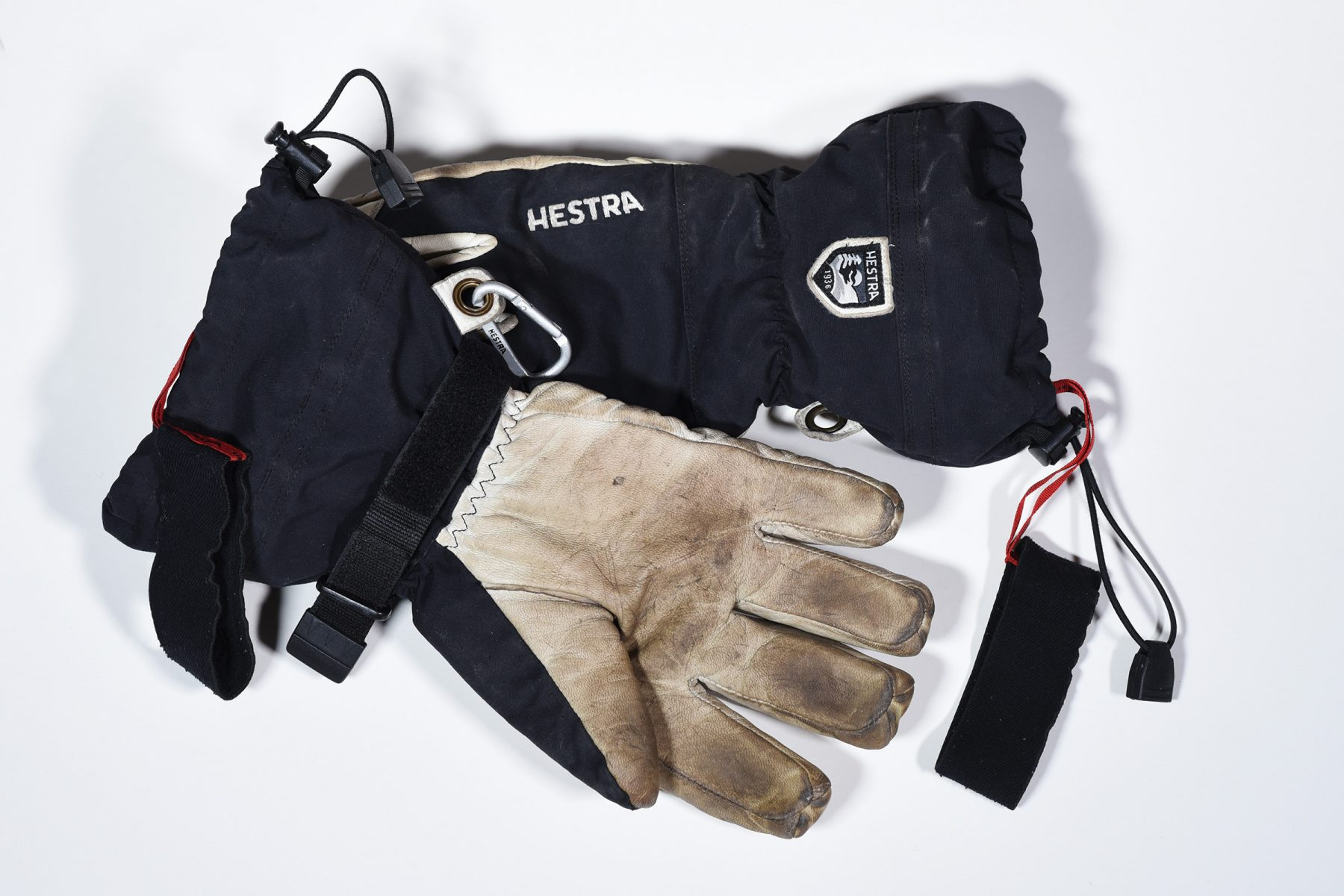 Hestra Heli ski gloves after two winter seasons of use