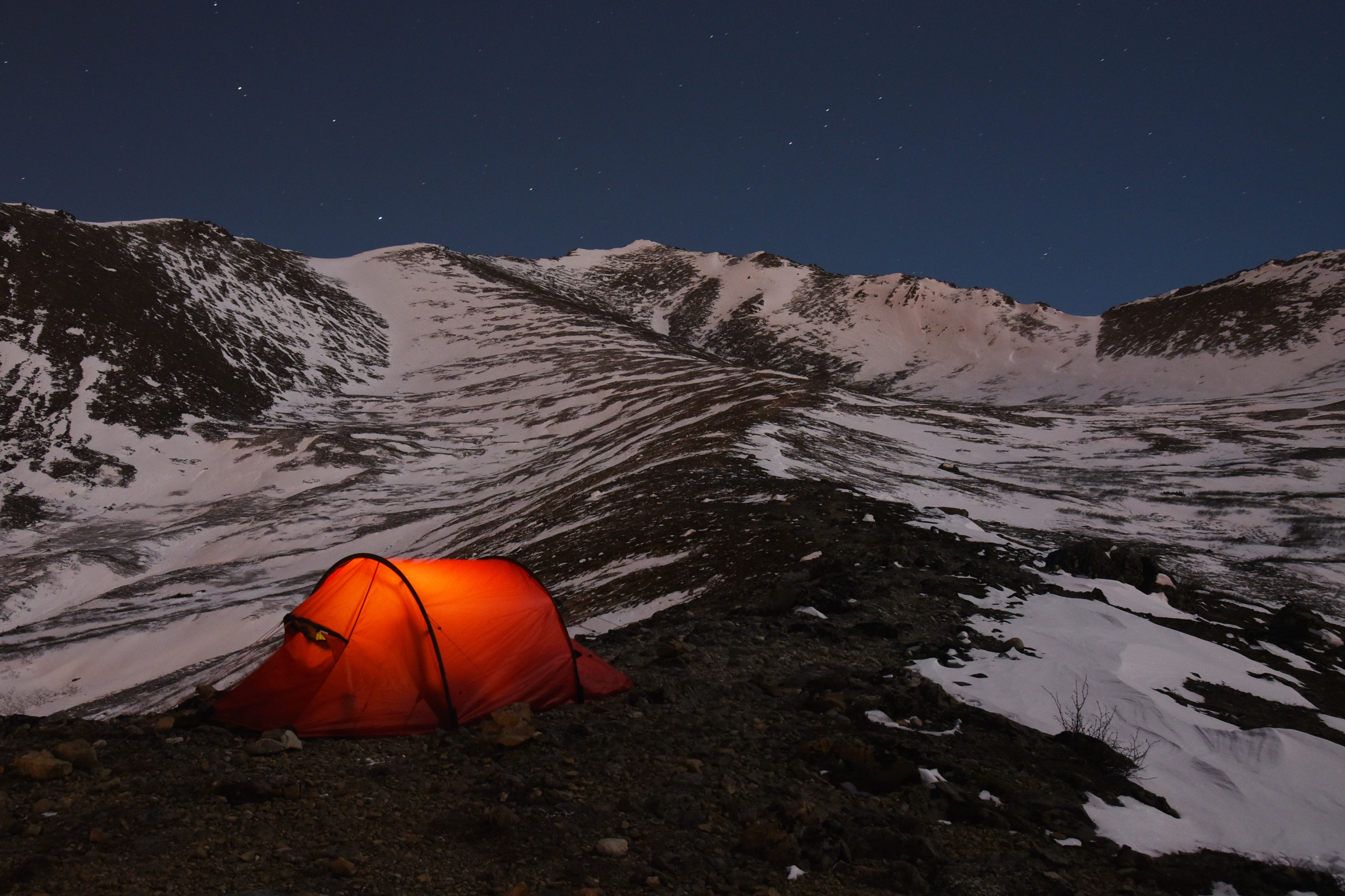 Hilleberg Nammatj 2 on Wolverine Peak & Hilleberg Nammatj 2 tent review | Winterbear.com product reviews