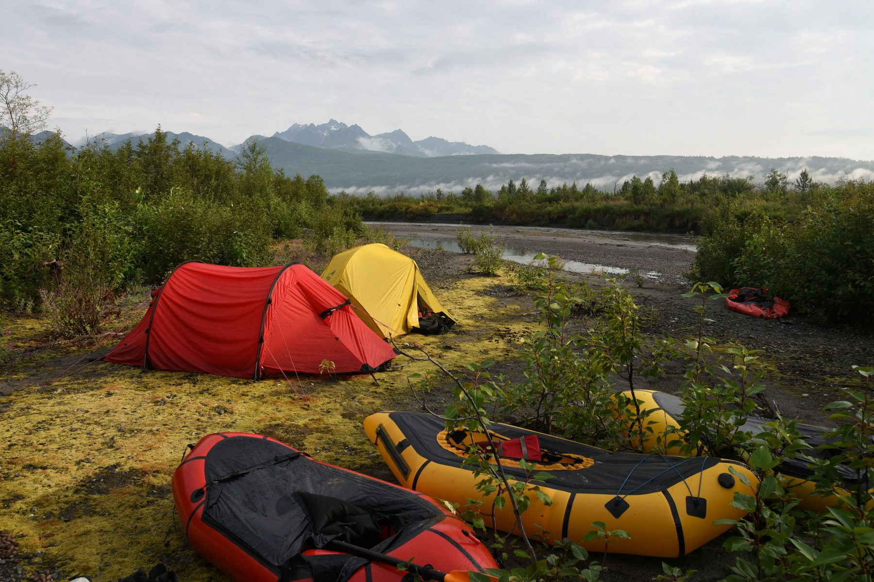 Campsite on the Tokositna River