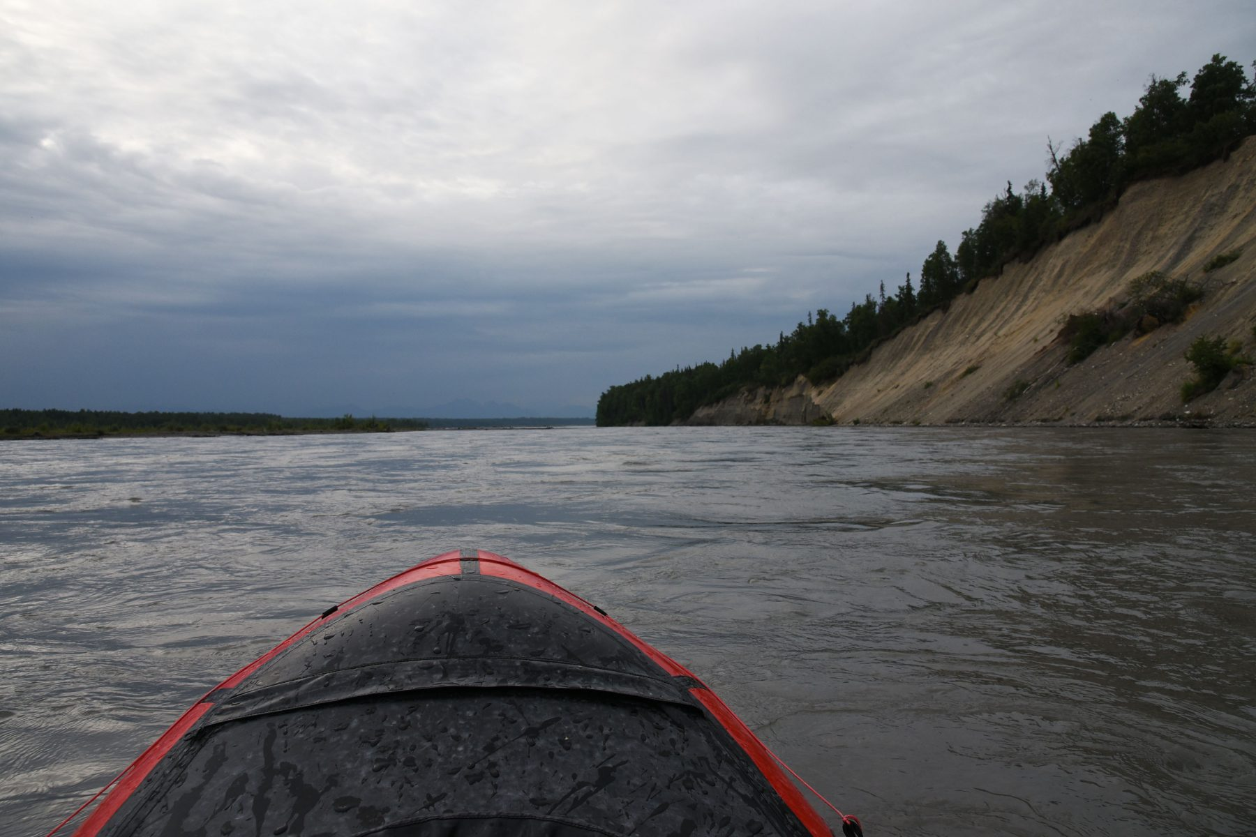 Packrafting the Chulitna