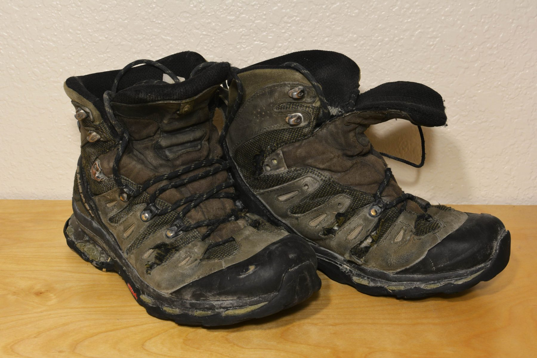 Salomon Quest 3D's at the end of their lives