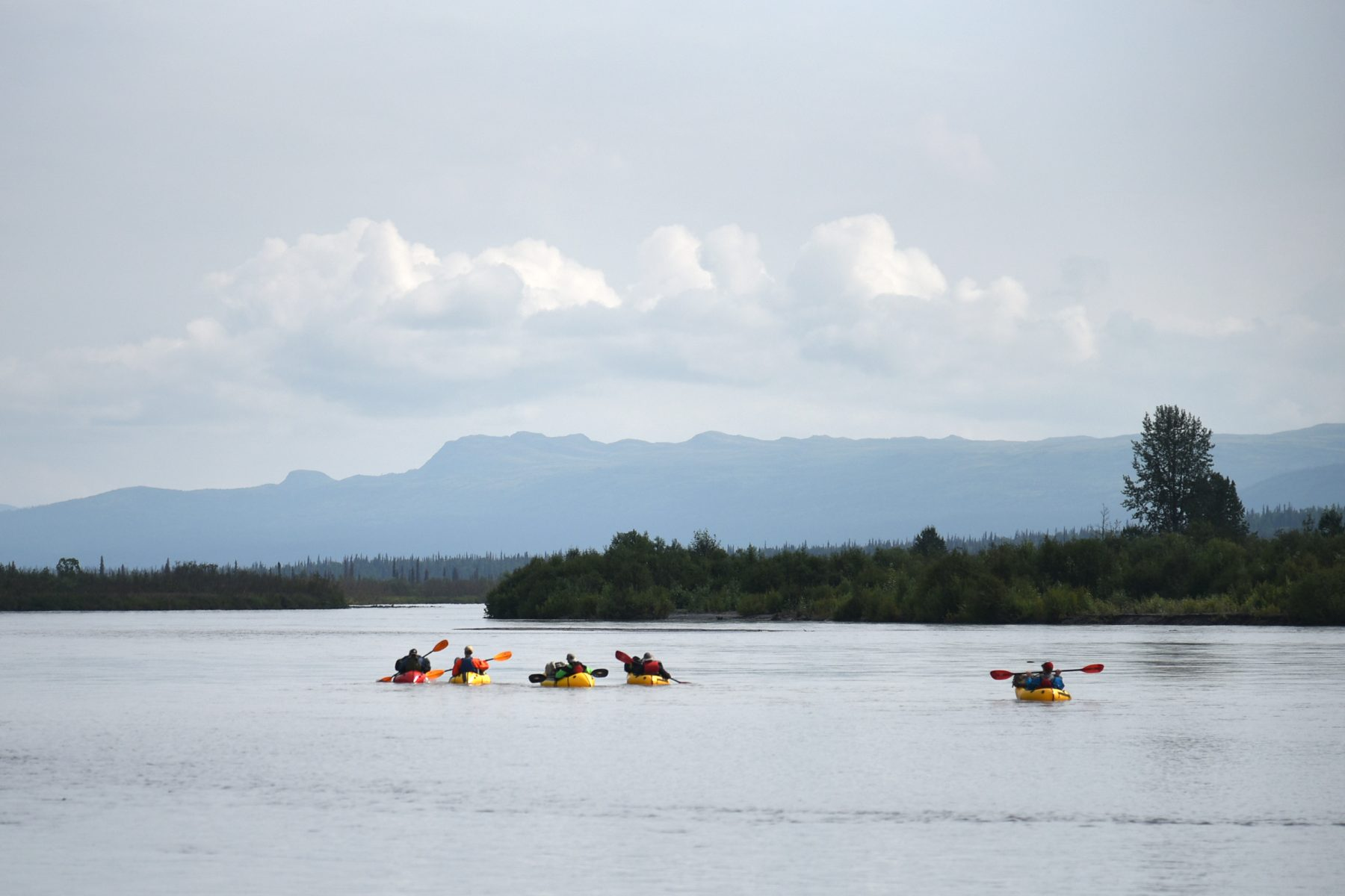 Packrafting the Tokositna